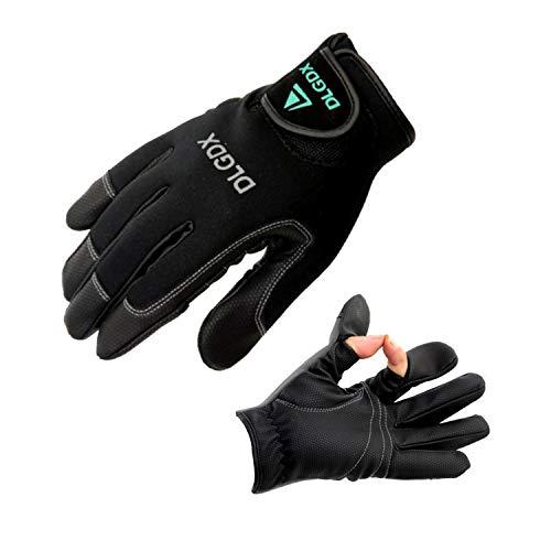 RUNATURE Herren Angelhandschuhe/Neopren-Handschuhe, leicht, wasserfest