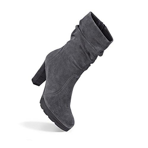 Paul Green | Kurzschaft Stiefel - grau | iron Grau