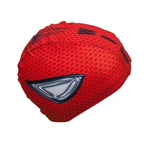 Swimxwin cuffia da nuoto revo cap spiderman | cuffia in tessuto| cuffia da piscina | grande comfort e aderenza | made in italy