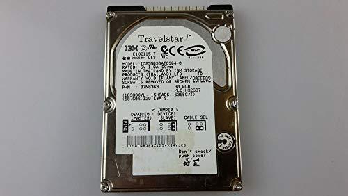 30GB IBM Travelstar IDE Festplatte HDD, IC25N030ATCS04-0 30 GB ATA 4200 RPM DEMO - Ibm-ide-festplatte