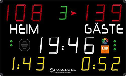 Boje Sport Anzeigetafel 452 MB 7000 FIBA von Stramatel