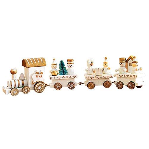 Pequeño tren de Navidad