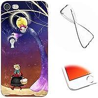 Carcasa Protectivo para iPhone 5S Funda,MingKun Silicona Case para iPhone 5S / SE Luz TPU Cover