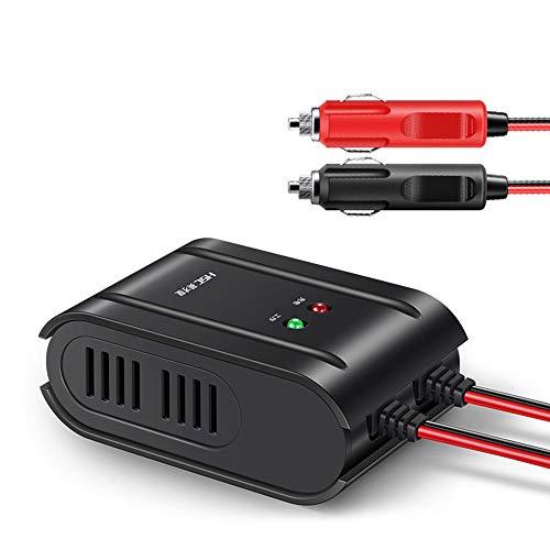 Preisvergleich Produktbild XISEDO Portable Auto Starthilfe,  DC 12V Smart Batterieladegerät & Maintainer Auto Netzteil mit Zigarettenanzünder Stecker Auto Batterie Notstromversorgung für 12V Auto