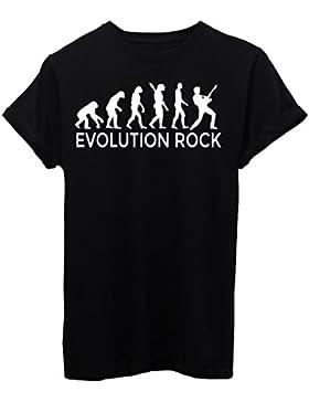 T-Shirt EVOLUZIONE ROCK MUSICA - EVOLUTION - by iMage