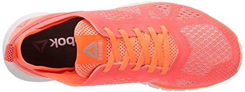 Reebok Damen Print Smooth Clip Ultk Laufschuhe Orange (GUAVA Punch/Peach Twist/lilac ash/Coal)
