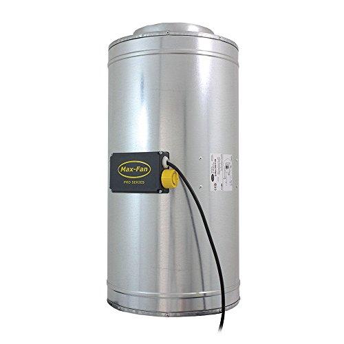 CAN Fans Q de Max 200 Ventilateur, 1120 M³/HR, Argent, 67 x 33 x 35,5 cm, 08-356-435