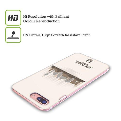 Head Case Designs Hamburg Stadtsilhouette - Deutschland Ruckseite Hülle für Apple iPhone 5 / 5s / SE Dusseldorf