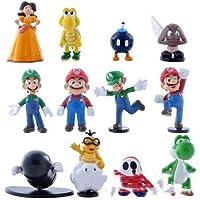 KAPAIDASHI Super-Venta de Mario Mario Trompeta muñeca plástica Juguete de la Mano de la decoración
