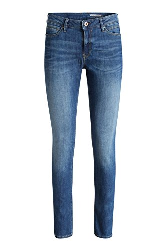 edc by ESPRIT Damen Jeanshose Blue Medium Wash 902