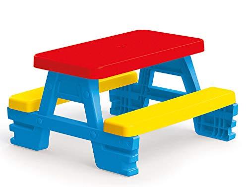 Dolu Kinder Sitzgruppe Picknick-Tisch Bank für Garten oder Innen