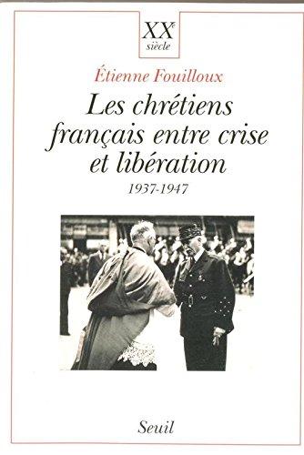 Les Chrétiens français entre crise et ...