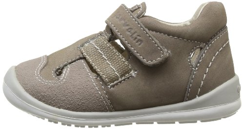 Garvalin 142337, Chaussures premiers pas bébé garçon Marron (B Taupe/Alco)