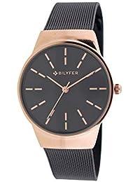 Reloj Bilyfer para Mujer con Correa Negra y Pantalla en Negro 3P568-N