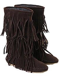 eda2b82fbf923 Suchergebnis auf Amazon.de für: stiefel mit fransen - Schuhe: Schuhe ...