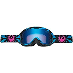 Dragon Mdx2 Factor-Gafas de Ciclismo, Color Azul
