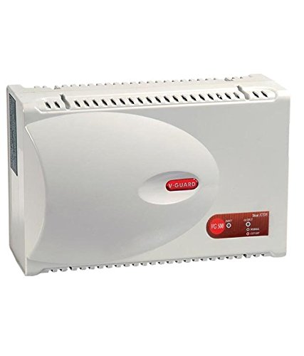 V-Guard VG 500 Voltage Stabilizer for Air-Conditioner (Grey)