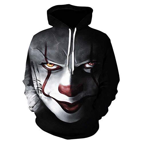 Paar Langärmelige Hoodies, Halloween 3D Digitaldruck Raum Baumwolle Sport Pullover, Männer Und Frauen Tragen - Paar Raum Kostüm