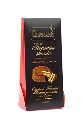 Gurmans Flavoured Ground Coffee by Gurmans