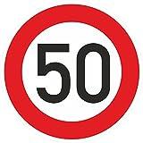 Geburtstagschild 50 Verkehrszeichen Verkehrsschild Straßenschild Geburtstagsschild Schild Geburtstag PVC 40 cm