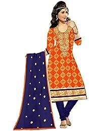 Mahi Fashion Women's Cotton Dress Material (MF26_Free Size_Multi-Coloured)