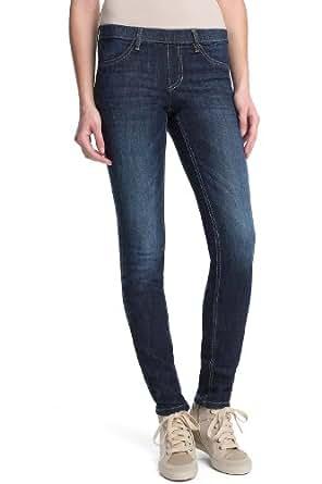 edc by ESPRIT Damen Jeans Normaler Bund 013CC1B014, Gr. 32/30 (XXS), Blau (939 dark stone denim)