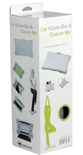 Subsonic 2-in-1 Fit Carry Bag & Comfort Mat (Wii) [Edizione: Regno Unito]