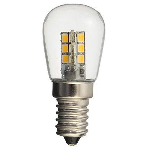 AC220 / AC110V führte Birne E12 E14 Smd 24 geführte Glaslampenschirm-reine warme weiße Lampe der hohen Helligkeit für Nähmaschine-Kühlschrank