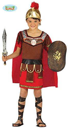 Fiestas Guirca Kostüm römischen Zenturio Soldat bewacht Kind