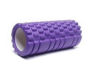 Futurekart Foam Roller,Fitness Massage Foam Roller Therapy Yoga Gym Physio Injury Foam Roller (33cm) Set of 1 (Purple)