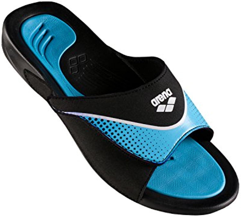 arena Hydrofit VCR Hook Sandals Men Black Grey White 2018 Badeschuhe