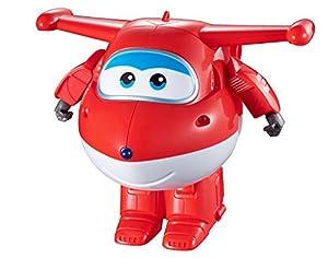 Alpha Animation & Toys Super Wings Dance & Transform Remote Control Jett Aeronave - Juguetes de Control Remoto (Alcalino, AAA, 1,5 V, 486 g, 254 mm, 300 mm)