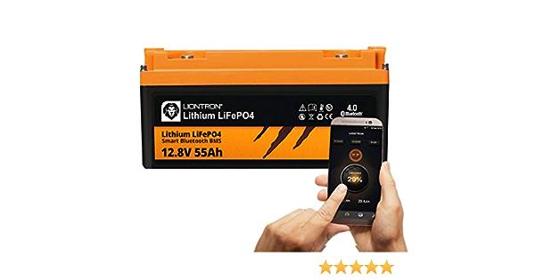 Liontron Lifepo4 12v 55ah Lithium Battery With Smart Elektronik