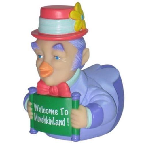 CelebriDucks Wizard of Oz Munchkin Mayor RUBBER DUCK Bath Toy by CelebriDucks