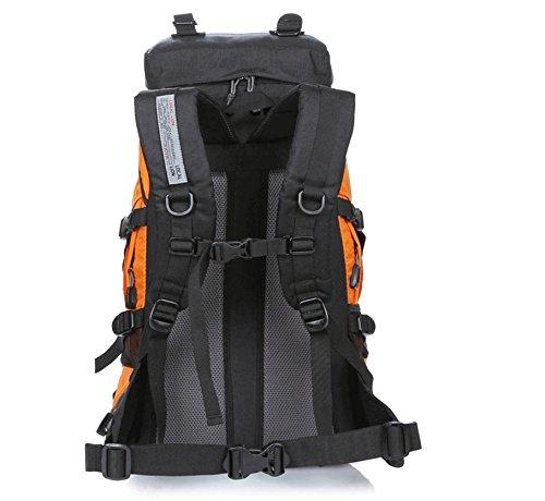 ROBAG Bergsteigen, Latex, 45 l Wandern camping Rucksäcke große Kapazität Rucksack Tasche numbers
