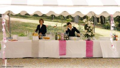 NEU Tischläufer rosa, 30cm x 10m