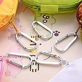 Qewmsg Kawaii Cartoon Design Nylon Foldable Shopping Bags Reusable Grocery Carry Bag