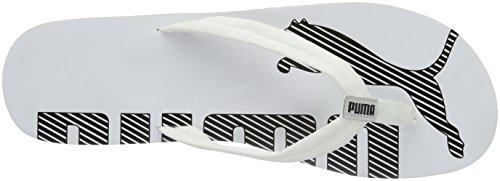 Puma Epic Flip v2, Unisex-Erwachsene Zehentrenner Weiß