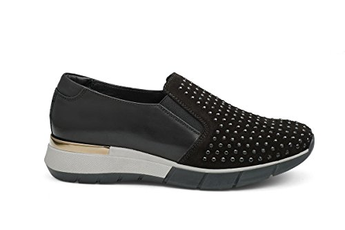 SOLDINI SLIP ON IN CAMOSCIO DONNA 19994-3-T95 39
