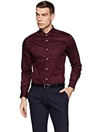 Peter England Men's Printed Regular Fit Formal Shirt