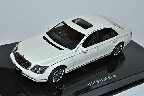 maybach-57-s-weiss-2005-56157-1-43-autoart-modell-auto-mit-individiuellem-wunschkennzeichen