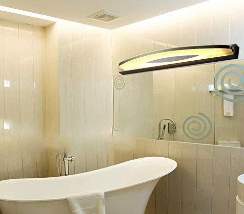 40 cm-6W, 54 cm-9F Der gebogene Edelstahl-Scheinwerfer führte moderne einfache der Acryl Badezimmerschrank grün / Feuer Wände / Lampe - Make-up - Make-up Spiegel Projektor (Farbe grün hot-54 cm-9 F) -
