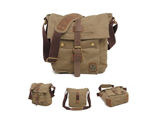 Muchuan , Borsa Messenger , Dark Grey (grigio) - FM-13 Army Green