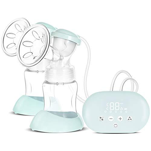 Jenify Double électrique Allaitement Pompes USB Rechargeable Portable Double Pompes Allaitement Maternel Massage Allaitement Pompe