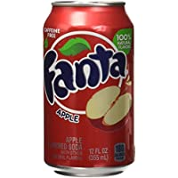 Fanta Apple Refresco - 12 Latas x 355 ml