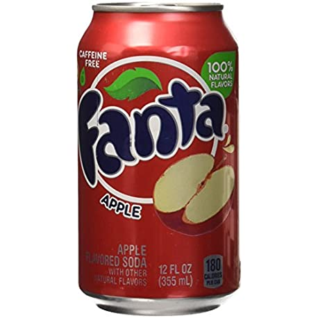 Fanta Apple Refresco 12 Latas x 355 ml