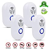 DIGDAN Ultrasonic Pest Repeller, Electronic Plug In Indoor Pest Control Insect Repellent