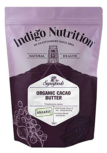 Indigo Herbs Bio Kakaobutter 1kg -
