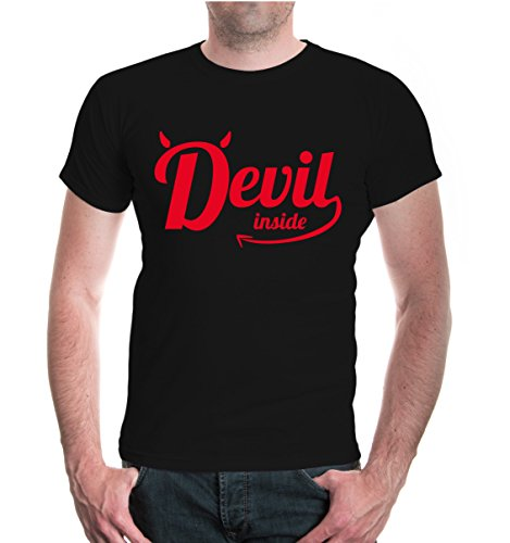 buXsbaum® T-Shirt Devil inside Black