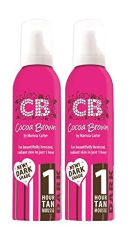 Cocoa Brown 1 Hour Tan Dark Twin Pack - Gel Twin Pack